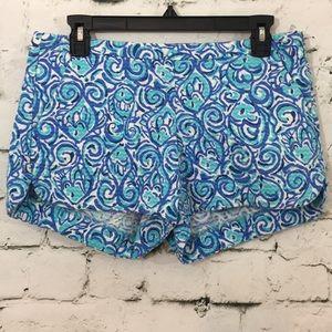 EUC Lilly Pulitzer shorts all cotton